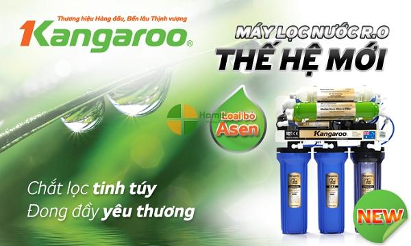 Máy lọc nước ro omega kangaroo
